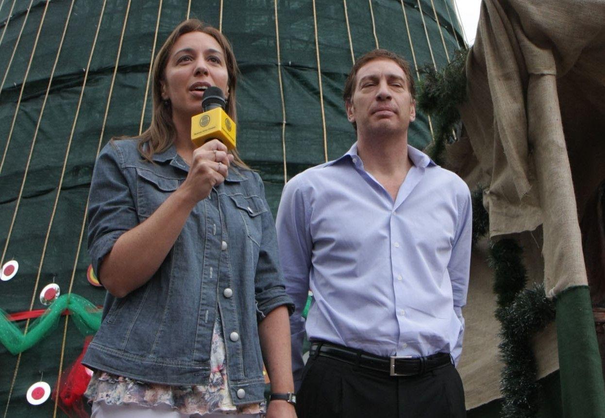 En el recuerdo: cuando María EUgenia Vidal y Diego Santilli hacían política juntos, pero en Capital Federal