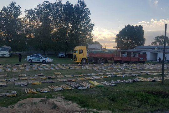 Operativo de Gendarmería desarticuló una banda narco en Exaltación de la Cruz