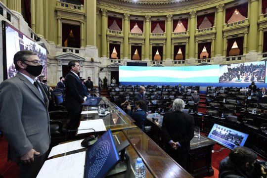 diputados aprobo la ampliacion del presupuesto y la reestructuracion de la deuda