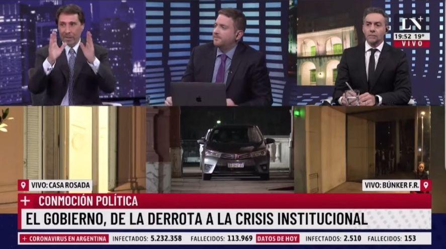 Sueños húmedos de acefalía de Feinmann, Majul y Viale en La Nación +