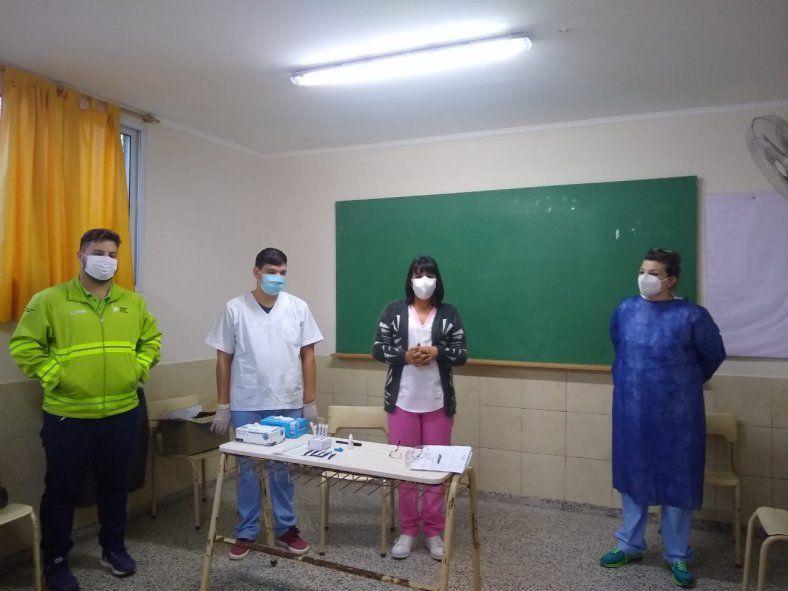 Buscando asintomáticos: Chivilcoy testea en escuelas