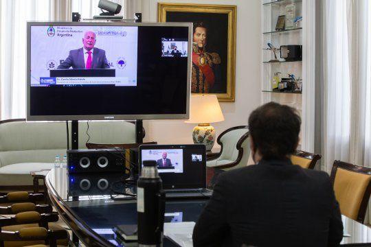 Kicillof participó de manera virtual de la apertura del congreso Somos Industria.