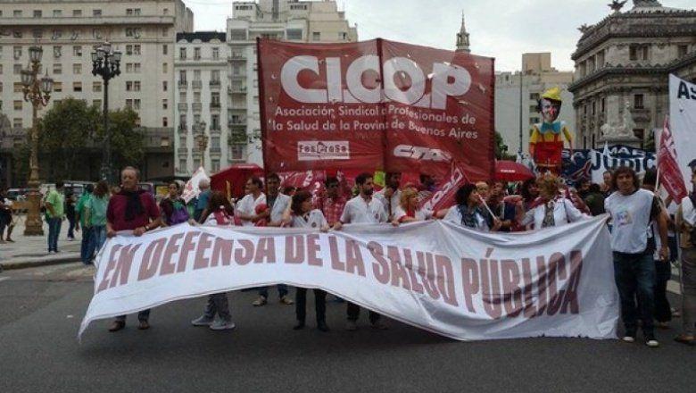 Cicop prepara una nueva protesta en reclamo de un aumento salarial que cubra la canasta básica alimentaria