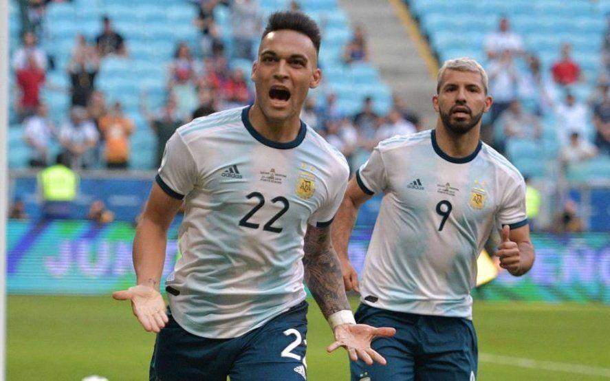 Lautaro Martínez, el bahiense que terminó el 2019 cómo goleador de la Selección superando a Messi y a Agüero