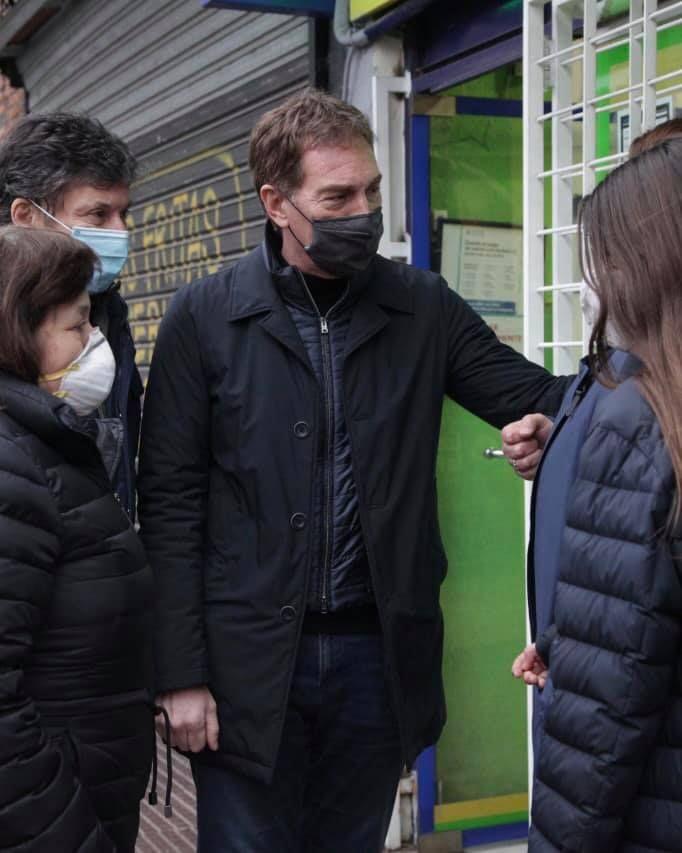 Gustavo Posse hace campaña en contra del radicalismo