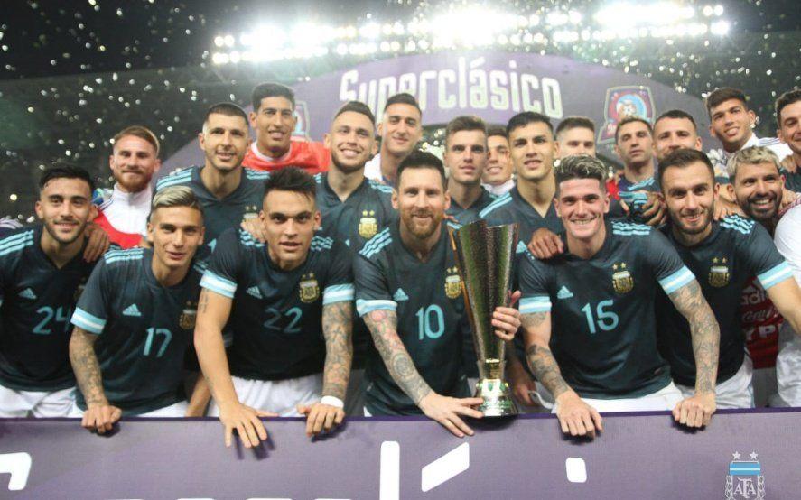 Con la vuelta con gol de Messi Argentina venció a Brasil en el clásico