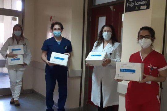 los hospitales publicos bonaerenses ya tienen test de diagnostico rapido de covid-19: mira como funcionan
