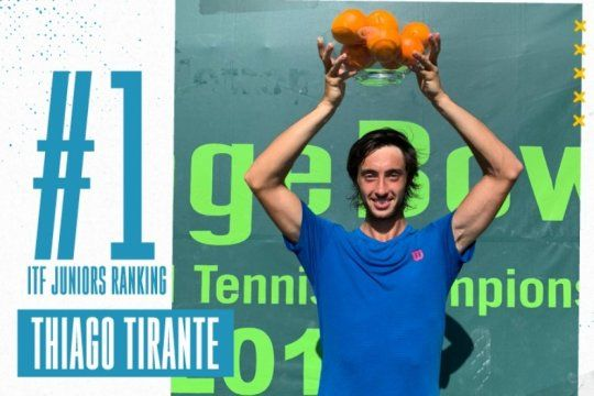la historia de thiago tirante, el platense que gano el orange bowl y es numero 1 del mundo