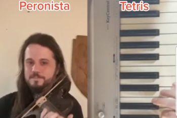 La marcha peronista y el Tetris comparten acordes idénticos