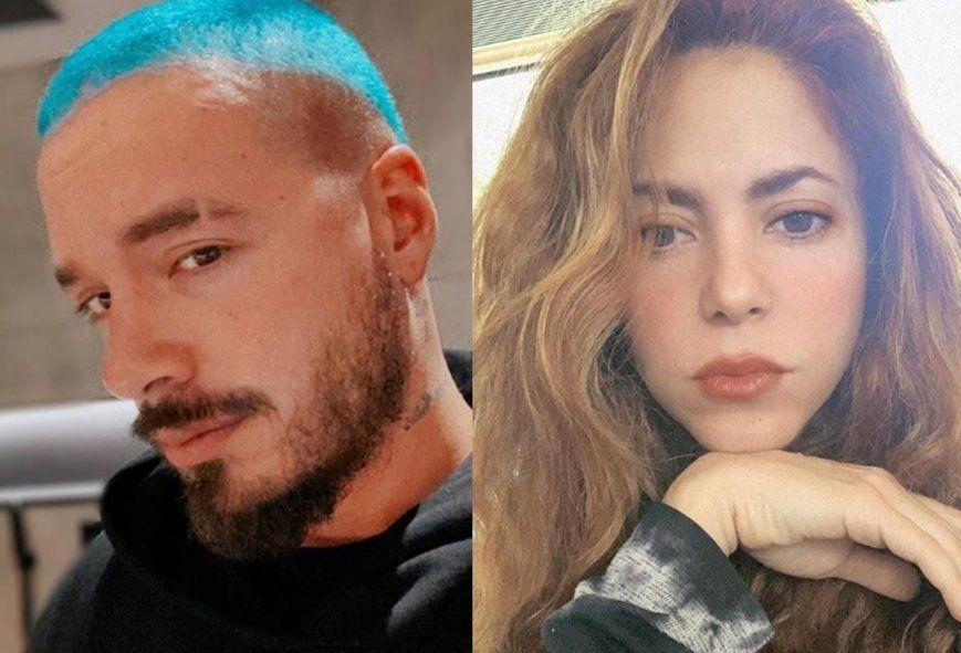 Shakira y J Balvin hablaron sobre la situación en Colombia
