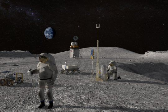 la nasa busca que la primera mujer llegue a la luna