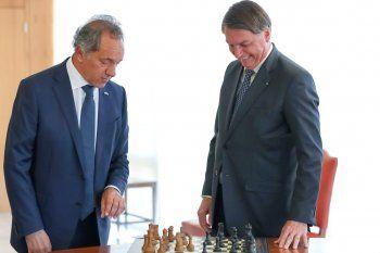 Scioli visitó otra vez a Bolsonaro: ahora por el Mercosur