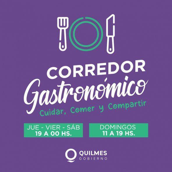 Desde esta semana, en Quilmes se podrá salir a comer afuera.