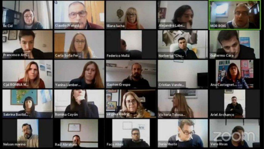 La opereta mediática detrás de una sesión del Concejo Deliberante de La Plata