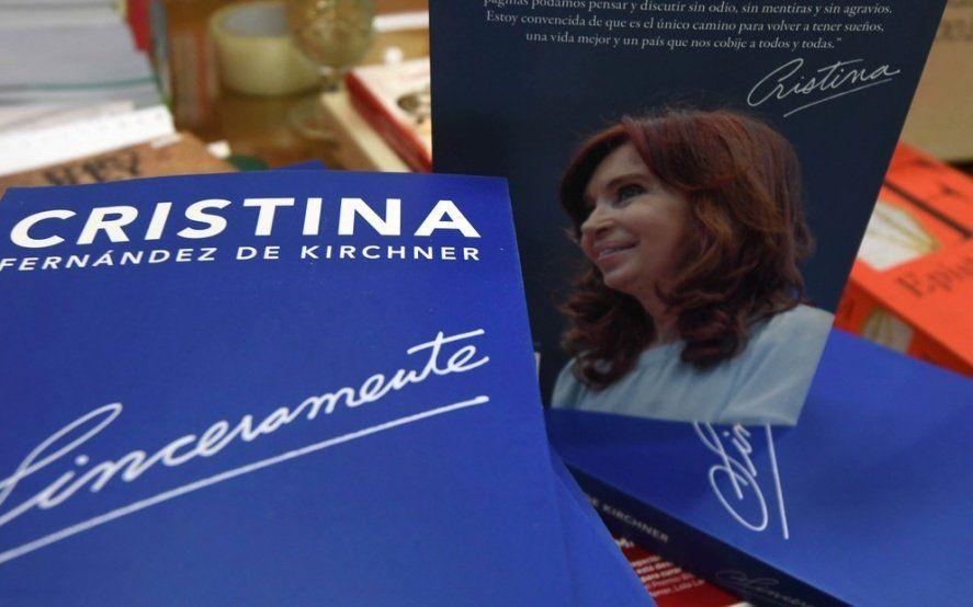 """Todo lo que tenés que saber para ver la presentación de """"Sinceramente"""", el libro de Cristina"""