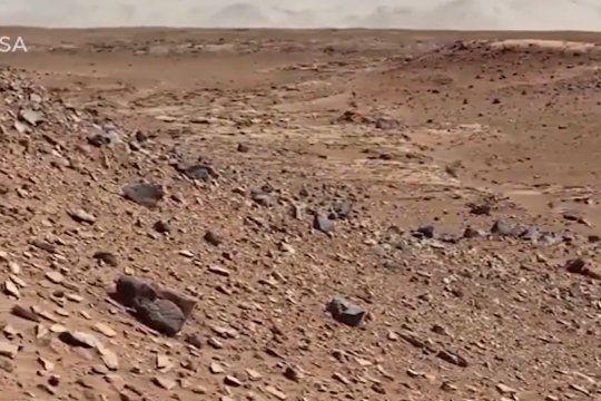 El perseverance envía las primeras imágenes de Marte en comunicación con La NASA