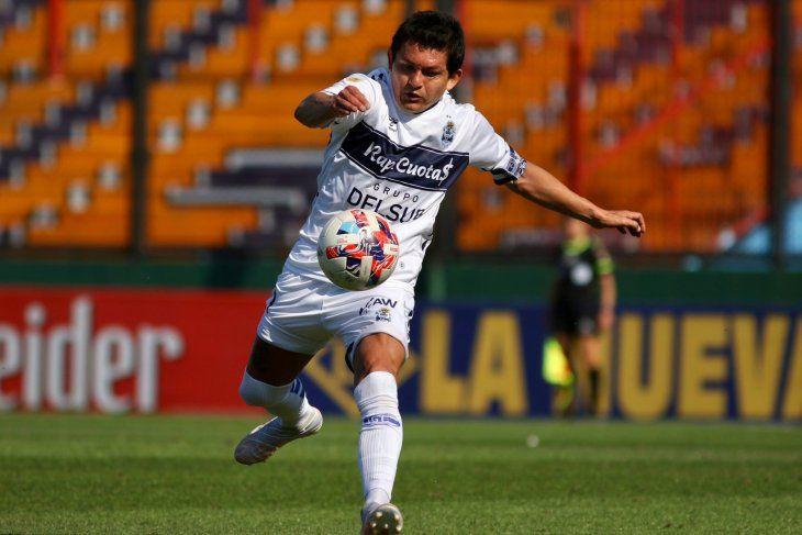 El Pulga Rodríguez mostró su categoría en la victoria de Gimnasia.