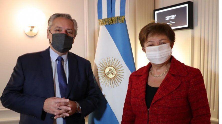 Deuda con el FMI: Alberto Fernández destacó la reunión Georgieva en su gira por Europa