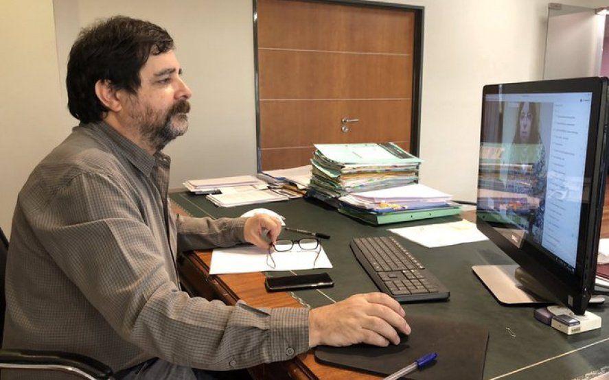 El intendente de San Martín, Fernando Moreira, dio negativo de Covid-19