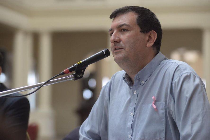 El concejal y candidato a diputado provincial del Frente de Todos