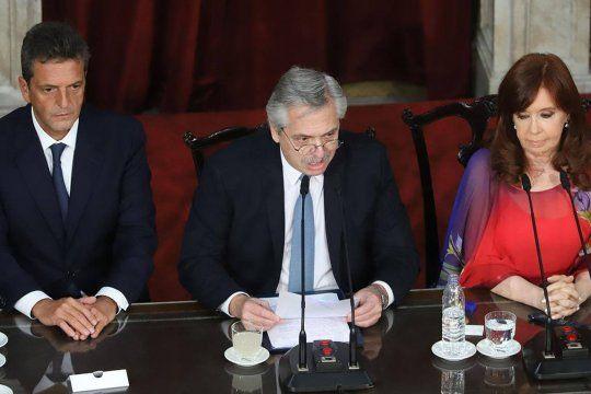 El presidente Alberto Fernández brindará un nuevo discurso en la Asamblea Legislativa