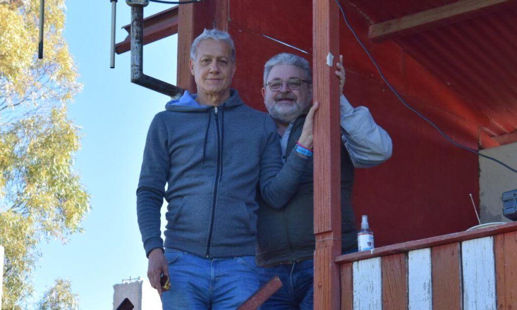 Rodolfo Lópes, Dámaso Larraburu, la foto que sorprendió en Bahía Blanca