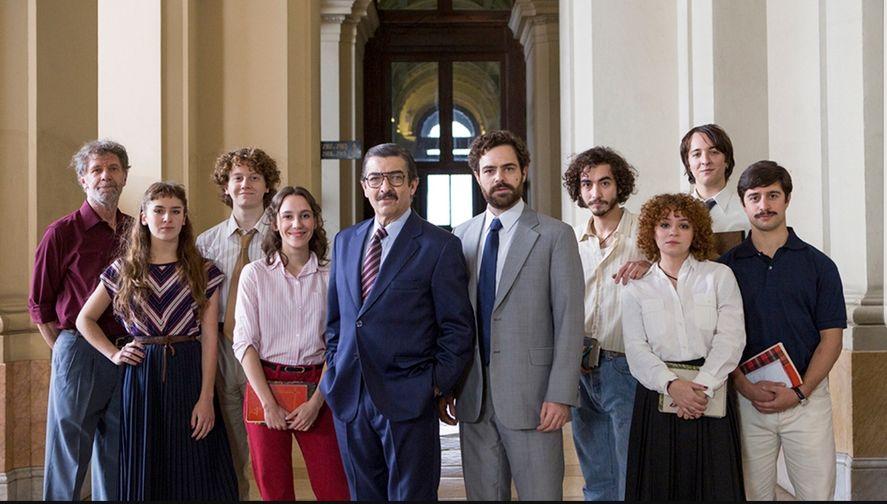 Ricardo Darín y Peter Lanzani en los roles de los fiscales Julio César Strassera y Luis Moreno Ocampo