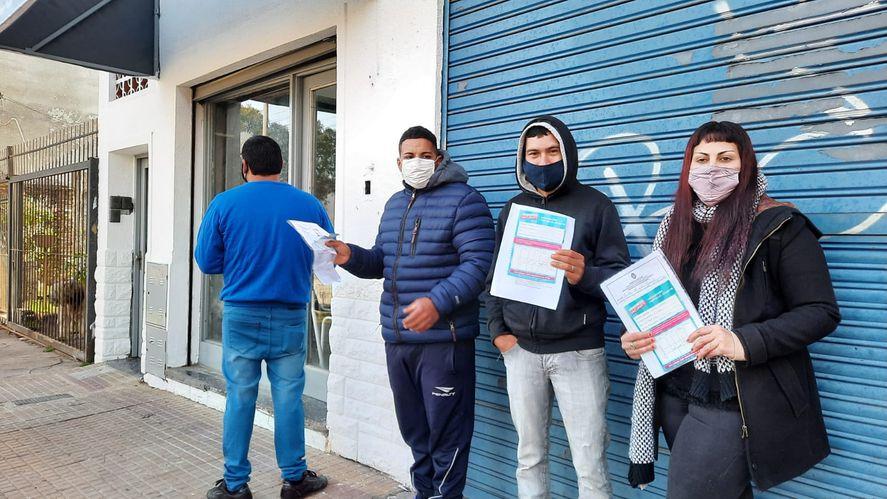 Una carnicería de La Plata pide certificado de vacunación para dar trabajo.