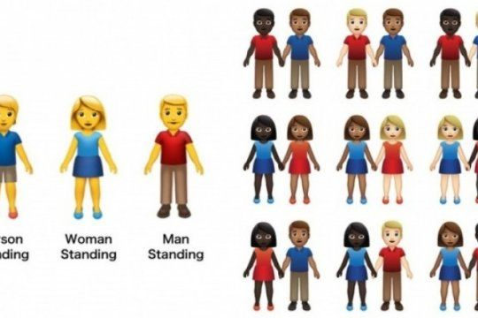 emojis inclusivos: planean incorporar mas de 50 nuevas combinaciones de parejas a la web