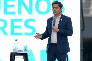 Los cuatro anuncios de Kicillof en La Plata