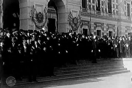 Quizás sean las primeras escenas de cine filmadas en la ciudad de La Plata en 1911