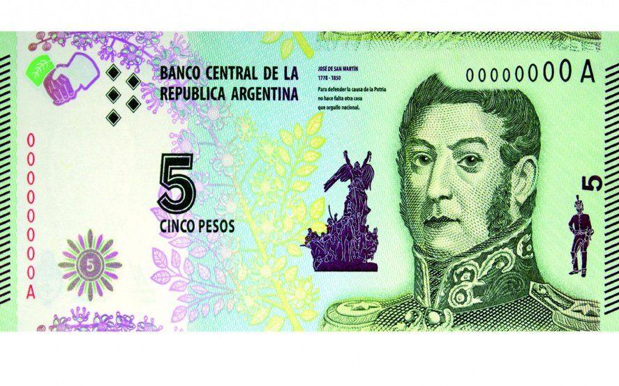 Adiós a San Martín: los billetes de 5 pesos ya pueden cambiarse o acreditarse en los bancos