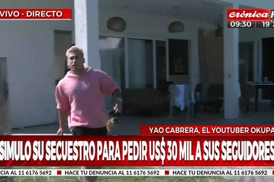 yao cabrera agredio a al equipo de cronica en medio de un movil