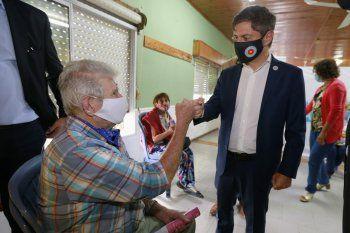 kicillof en magdalena, uno de los distritos bonaerenses con mas inmunizados