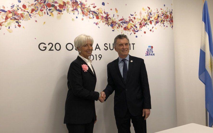 """De cara a las elecciones, Lagarde apoyó el """"programa de estabilización económica"""" de Macri"""
