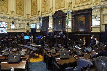 La Cámara de Diputados en plena sesión