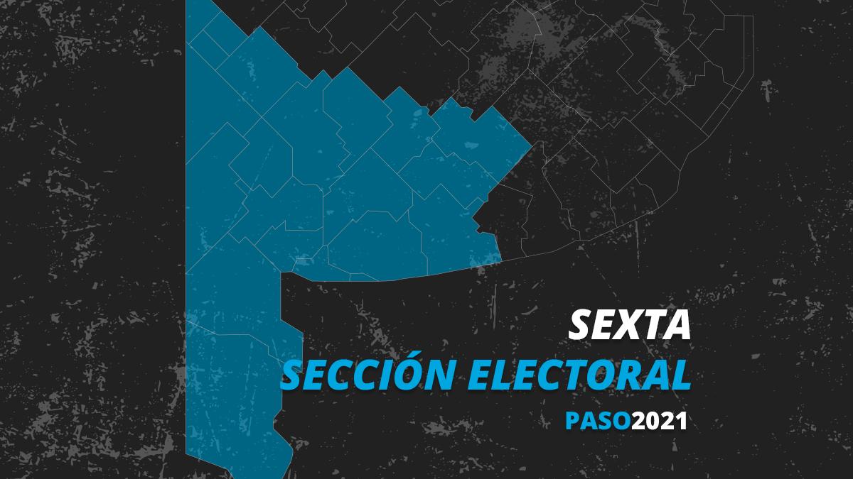 En la sexta sección, el sur de la provincia de Buenos Aires, Juntos ganó las elecciones PASO.