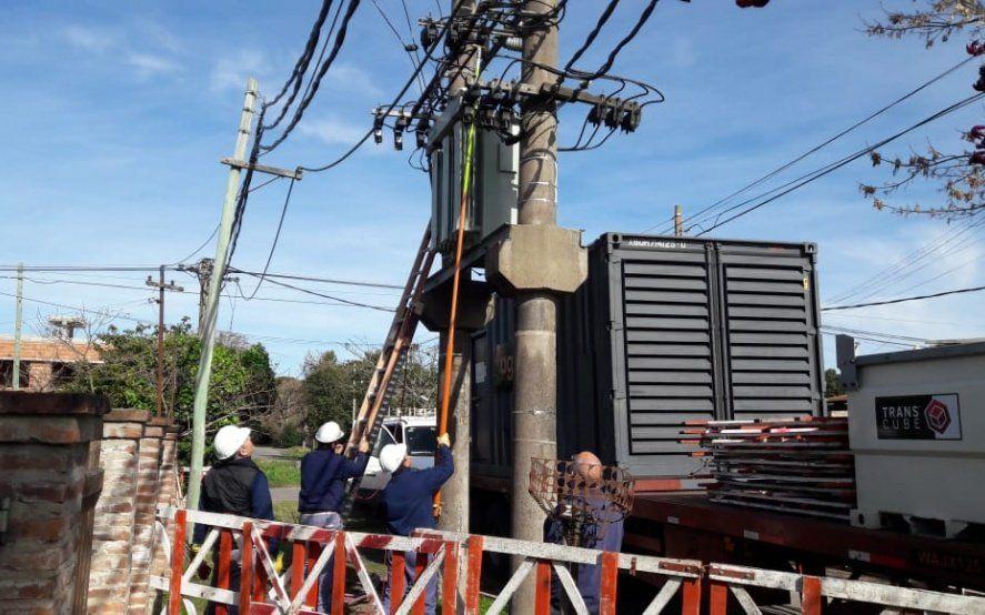 """EDELAP desconectó los grupos electrógenos y anunció el """"normal"""" restablecimiento del servicio"""