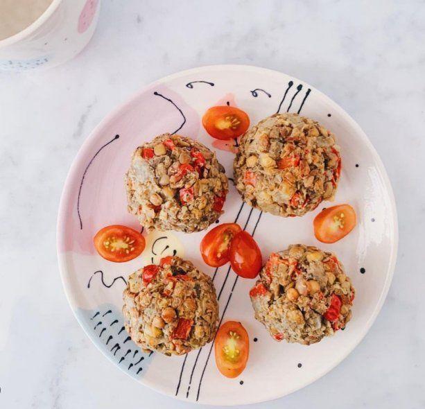 Cada vez hay más recetas aptas para personas veganas en webs gastronómicas (Foto: @veganfitfluencer)