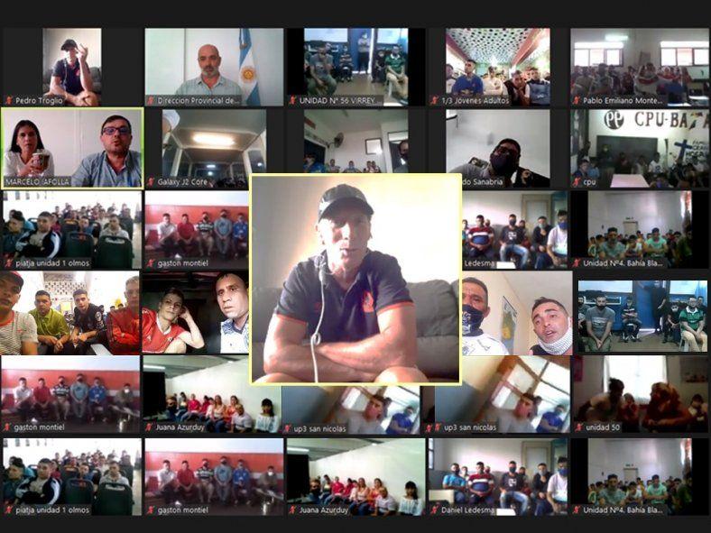 Pedro Troglio apoyó una iniciativa resocializadora en las cárceles de la Provincia