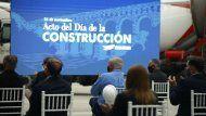 dia de la construccion: un acto que encendio la esperanza