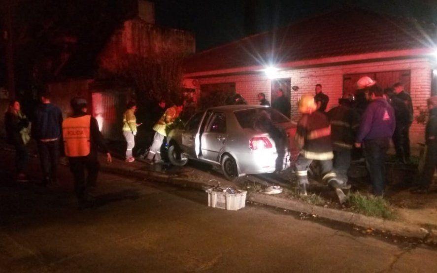 Adrogué: un automovilista advirtió a un motochorro en acción y lo atropelló para evitar el atraco