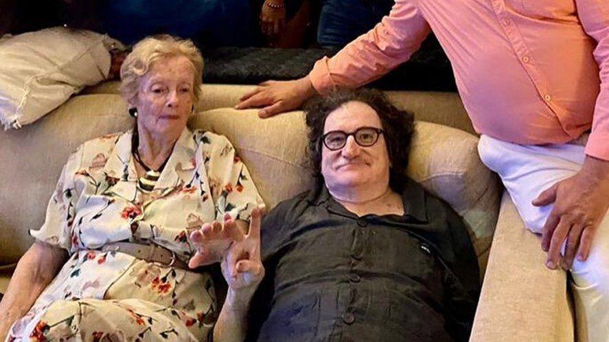 Charly García festejó Nochebuena con la familia de Cerati