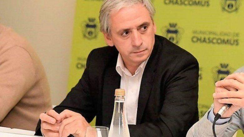 Javier Gatón, intendente de Chascomús