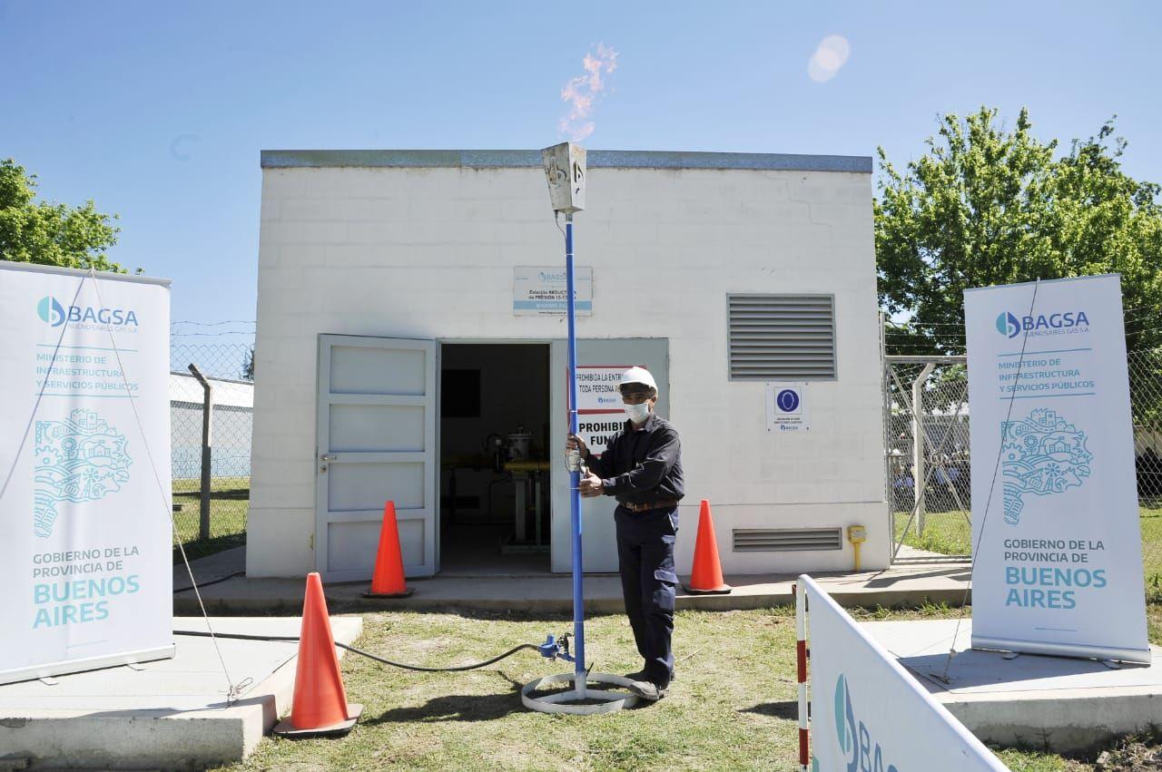 Cañuelas: Provincia inauguró obra de gas para 4 mil vecinos
