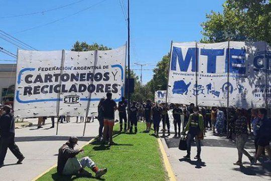 San Vicente: represión contra cartoneros y recicladores