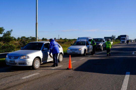Más de 100 autos por día son rechazados en los siete accesos a Mar del Plata