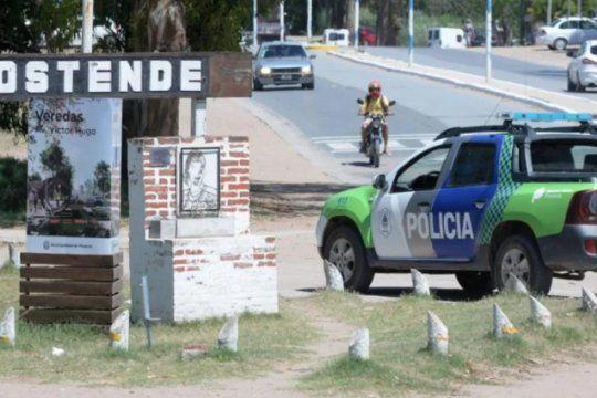 El violento robo fue en la calle La Plata al 15