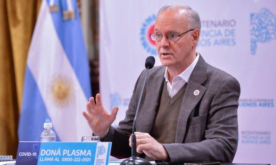Gollan cuestionó a la oposición y defendió la política de salud que implementa el Gobierno