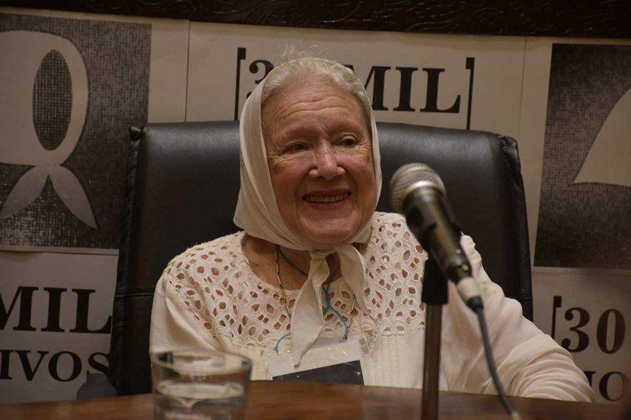 Nora Cortiñas cumple 91 años este lunes